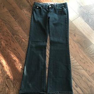 Paige Pico Black Premium Denim Jeans